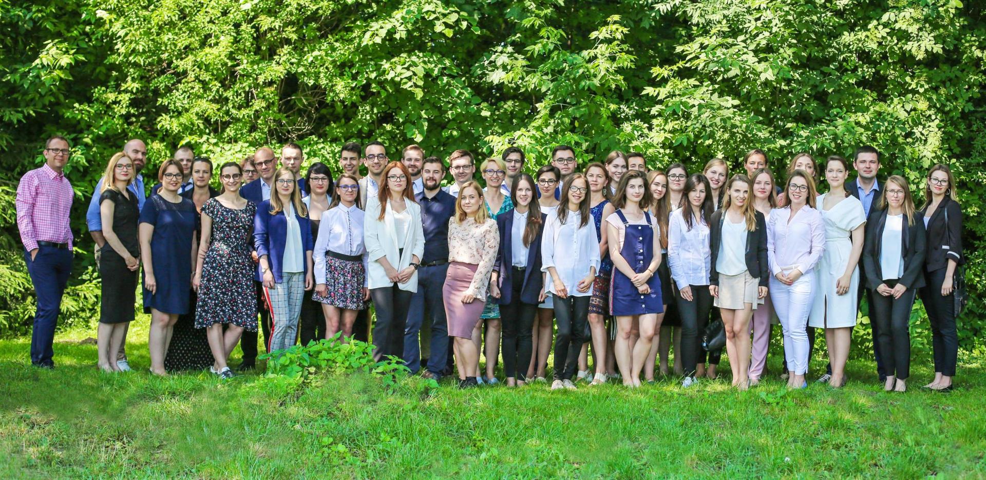 Zdjęcie grupowe uczestników TopMinds